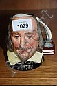 Royal Doulton character jug Shakespeare small
