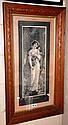 Antique monochrome lithograph after J. Austin