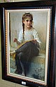 Well framed print on canvas after William Adolphe