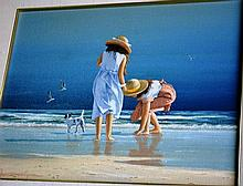 Ron van Gennip, oil on canvas board 'And here's