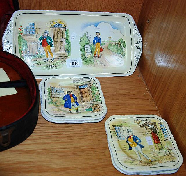 Alfred Meakin sandwich set comprising of a tray
