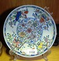 Chinese porcelain bowl, polychrome decoration, 6