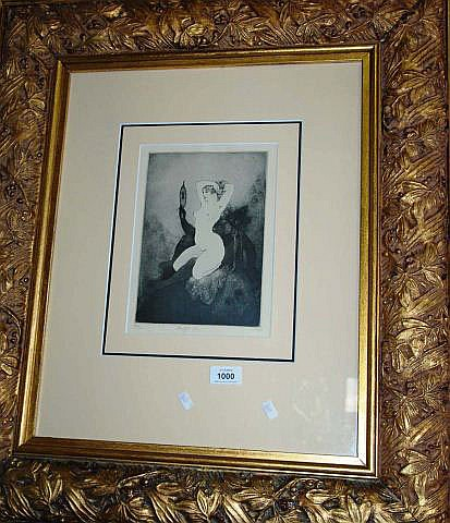 Norman Lindsay Limited Edition lithographic print