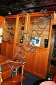 3 piece Chiswell wall unit in teak, 2.3m x 2.1m