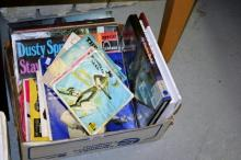Small box containing qty of vintage records incl.