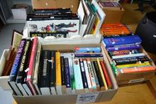 3x boxes of books incl. movie related, Star Wars