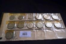 Collection of Australian coins mostly misstrikes,