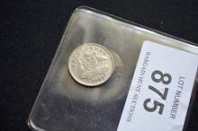 Australian 1934 /33 overdate threepence 3D