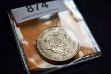 1935 Australian silver florin, very fine/near