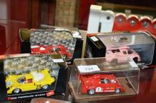 Collection of 4 Brumm model racing cars, 1-43