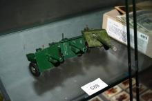 3 Brittains model artillery field guns,