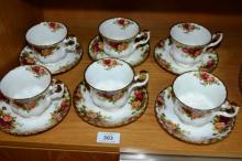 Royal Albert 'Old Country Roses' - set of 6