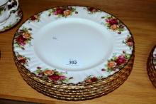 Royal Albert 'Old Country Roses' - 6 dinner