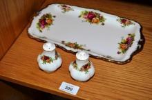 Royal Albert 'Old Country Roses' - rectangular