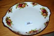 Royal Albert 'Old Country Roses' - cake plate with