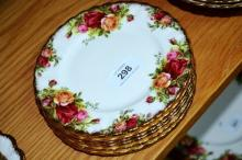 Royal Albert 'Old Country Roses' - 6 side plates