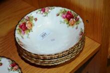 Royal Albert 'Old Country Roses' - 6 cereal