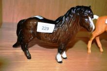 Beswick model of a Shetland pony
