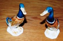 A pair of Beswick models of standing ducks, each