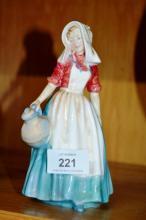 Royal Doulton figurine, 'Jersey Milkmaid' HN2057