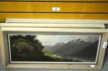 James Robert Hutchings, 'Lake Scenes, New Zealand'