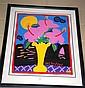 Ken Done; lim/ed screen print 'Hibiscus',
