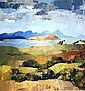 Peter McIntyre oil on board 'Whangarei Harbour'