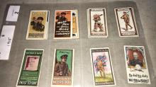 W.D. & H.O. Wills original cigarette cards, 5 sets, all loose in sleeves.