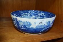 Antique Copeland Spode's Italian fruit bowl, 22cm D