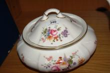 Royal Crown Derby 'Derby Posies' lidded casserole pot or serving tureen, 23cm D