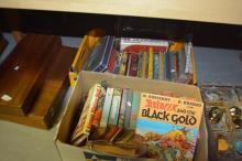 2 x boxes of vintage books incl. Asterix etc