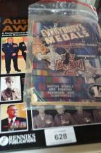 2 books: 'Australians Awarded', published by Rennicks, and 'Everbody's Medals', by SC Johnson, paperback publication