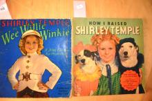 2 vintage Shirley Temple books incl. 'Wee Willie Winkie' & 'How I Raised Shirley Temple'