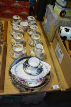 Various china, mostly Royal Albert, plus Pro Hart and First Fleet