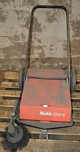 A Hako Clean factory floor sweeper