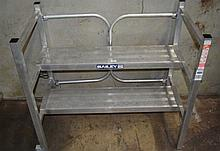 A Bailey two step handi-stand rated 225KG