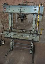 Old heavy duty Servex industrial press, max