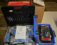 A collection of hydraulic tools air- tools etc