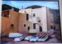 Elizabeth Clauzel, 'Boats on the Beach',