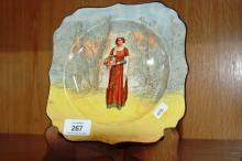 Royal Doulton Shakespeare series plate,