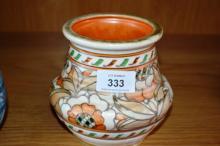 Charlotte Rhead, Crown Ducal studio pottery vase
