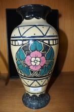 English Nepal ware 'Phoenix' studio vase,