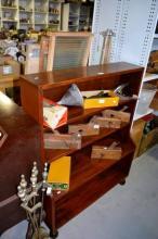 5 tier open fronted book shelf