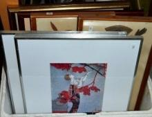 Box containing 8 various prints incl. Picasso, a