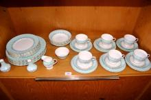 Tuscan china dinner & tea service for 6 comprising