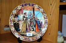 Royal Doulton Lim/Ed collector's plate,