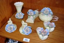 Collection of 8 pieces of Australian pottery all