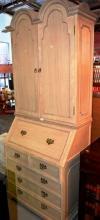 Bureau bookcase, with pair of upper doors,