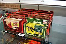 9 Matchbox Models of Yesteryear delivery trucks