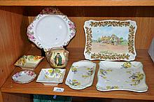 Collection of various Royal Doulton pieces,